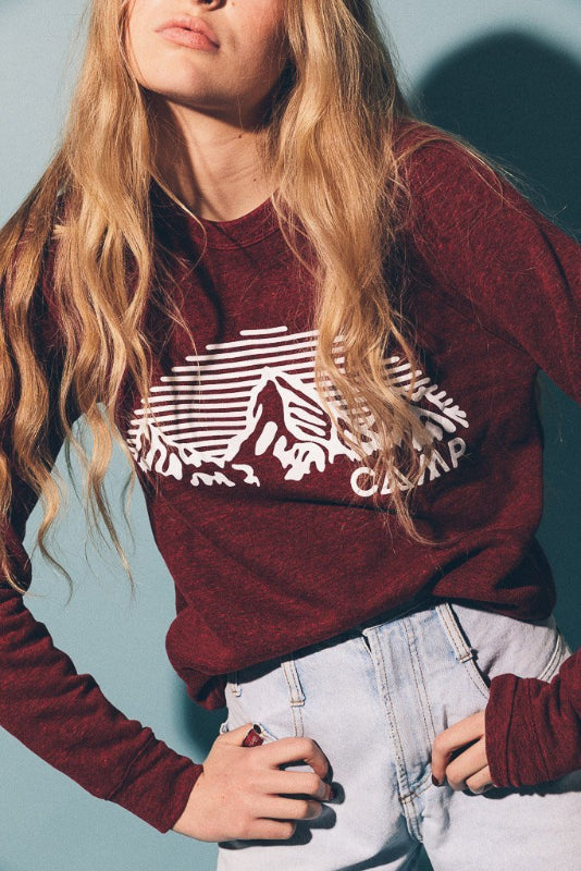 Mountain Arch Crewneck