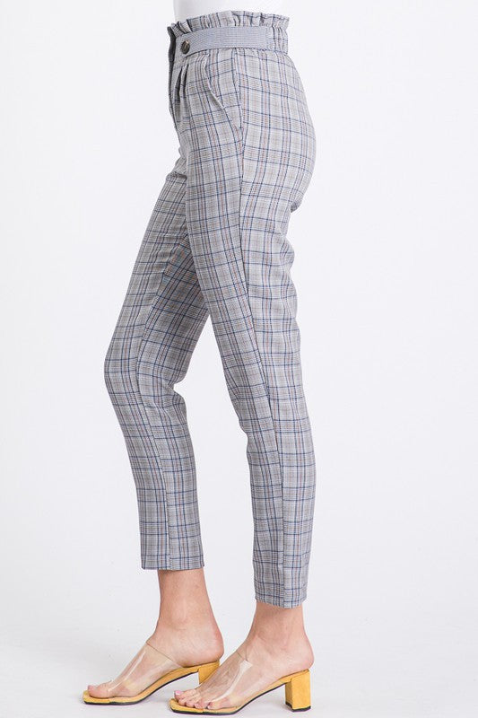 Glen Check Trouser