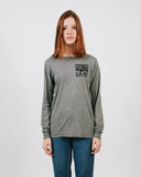 HERITAGE LOGO LONG SLEEVE // TRI GREY