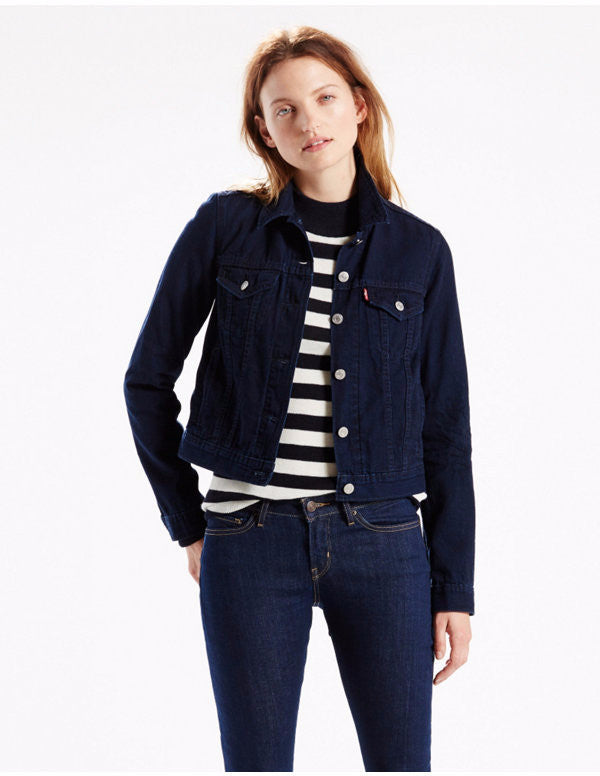 Levi's Trucker Jacket Dark Wash