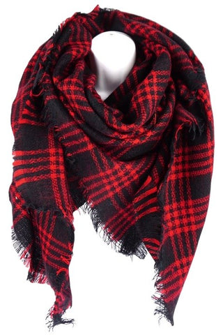 Classic Vintage Red Plaid