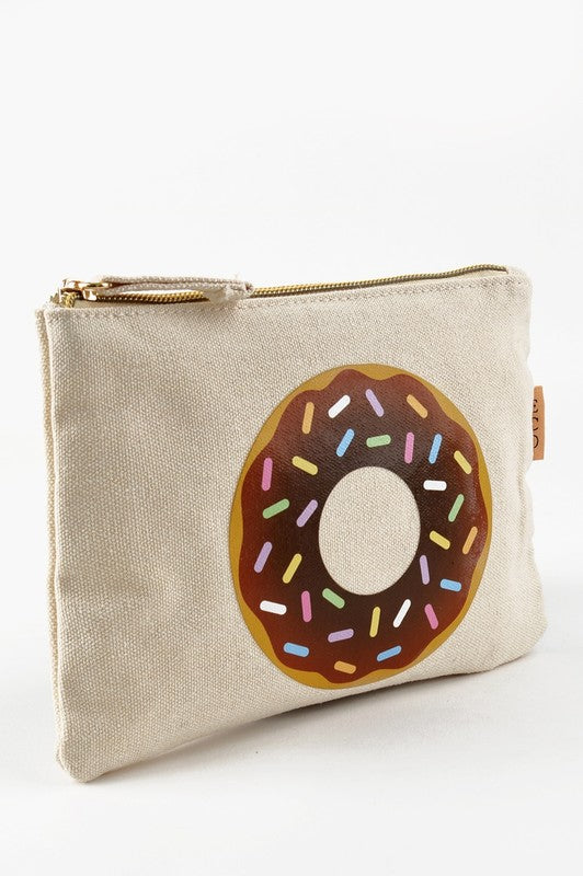 Donut Canvas Bag