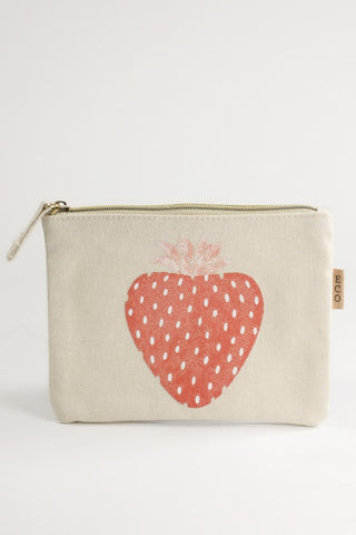 Strawberry Canvas Bag