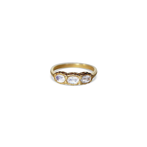 Empress Ring Gold & Moonstone