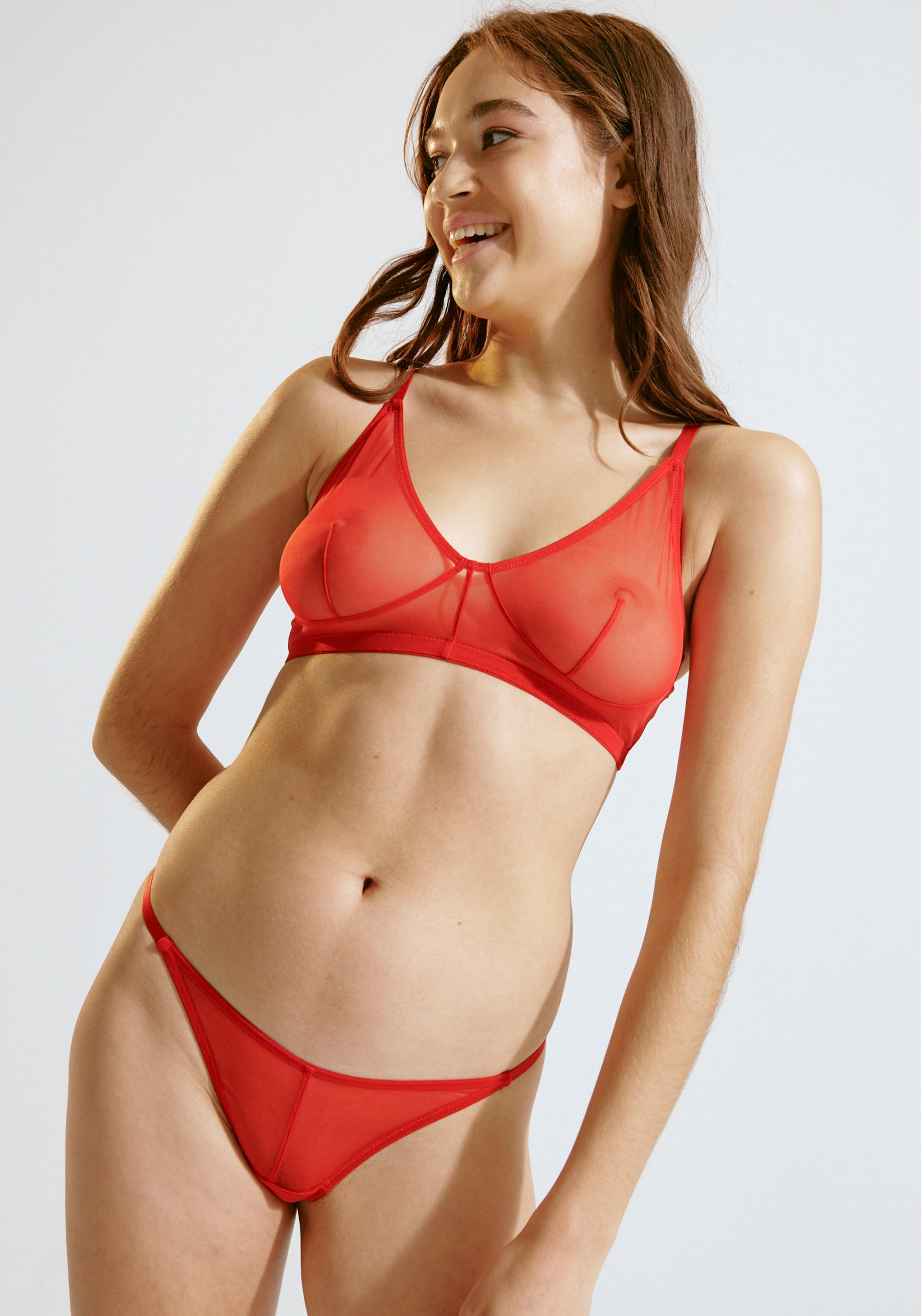 Push Bralette Red