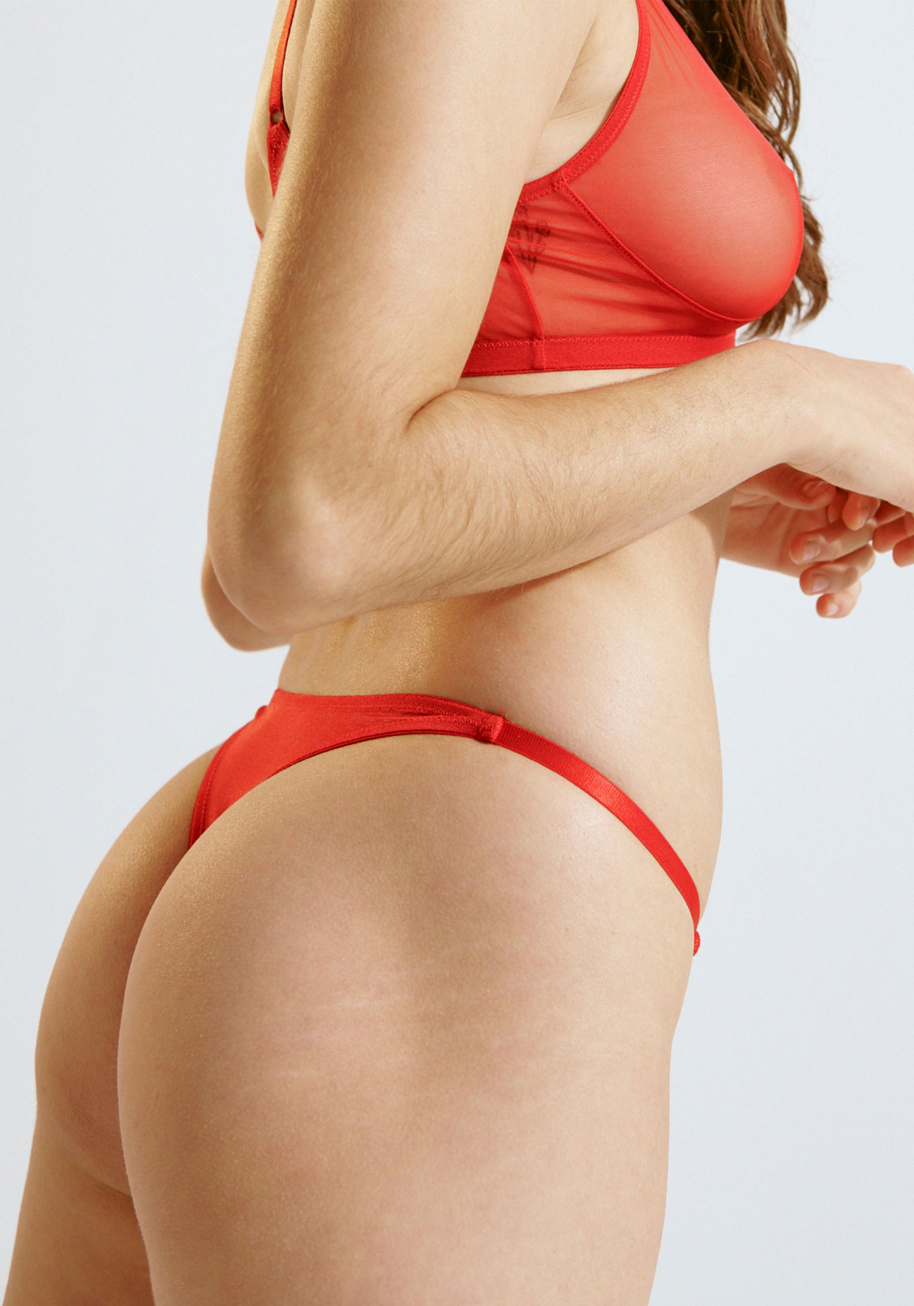 Push Thong Red
