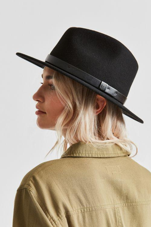 Messer Fedora | Black & Black