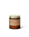 NO. 01: SPICED PUMPKIN - 3.5 OZ MINI SOY CANDLE