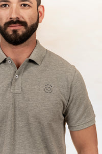 POLO HEATHER GREY