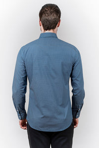 CAMISA CASUAL SOFT NAVY