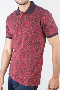 POLO ESTAMPADA RED