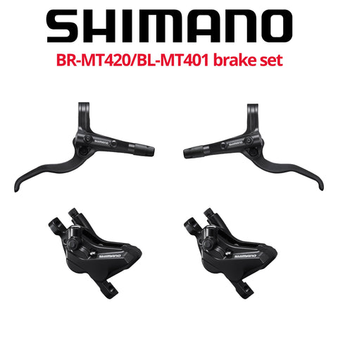 Shimano BR-MT420 4-Piston Disc Brake Set, front & rear - Bikecomponents.ca