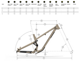 2021 Commencal META AM - Frame, Black & White - Bikecomponents.ca