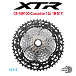 Shimano XTR CS-M9100 12-speed Cassette, MICRO SPLINE - Bikecomponents.ca