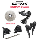 Shimano GRX RX600 Groupset with Disc Brakes w/o Crankset - Bikecomponents.ca