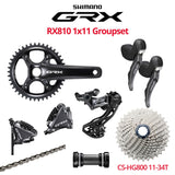 Shimano GRX RX810 Groupset with Crankset & Disc Brakes - Bikecomponents.ca