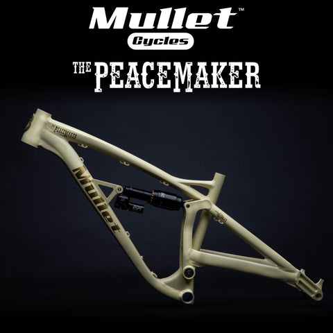 Mullet™ Peacemaker Frame - Full Suspension 150mm | 27.5R/29F - Bikecomponents.ca