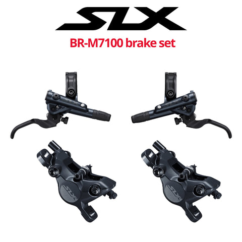 Shimano SLX BR-M7100 2-Piston Disc Brake Set, front & rear - Bikecomponents.ca