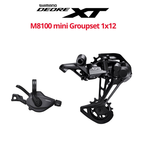 Shimano XT M8100 mini Groupset, 1x12 - Bikecomponents.ca