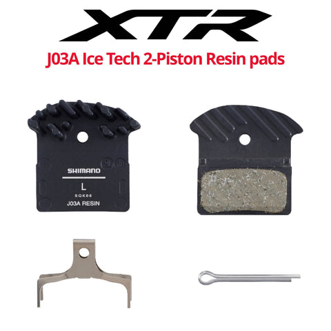 Shimano J03A 2-Piston Ice Technologies Resin pads - Bikecomponents.ca
