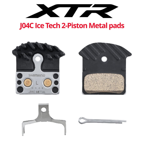 Shimano J04C 2-Piston Ice Technologies Metal pads - Bikecomponents.ca