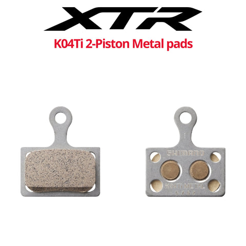 Shimano K04Ti 2-Piston Metal pads - Bikecomponents.ca