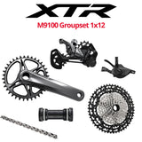 Shimano XTR M9100 Groupset, 1x12, with or W/O brakes - Bikecomponents.ca