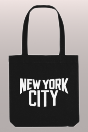 New York City Tote in Black