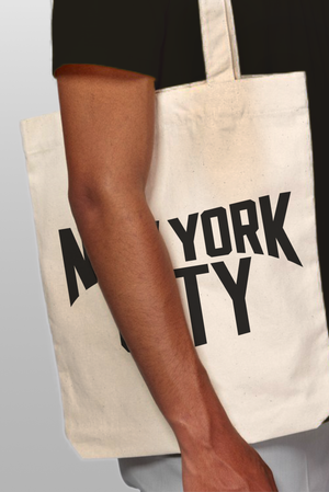 New York City Tote in Natural