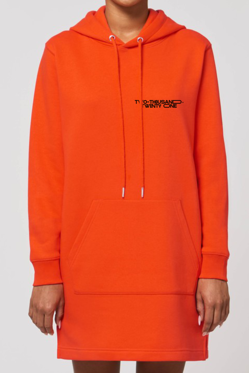Two Thousand + Twenty One Long Hoodie