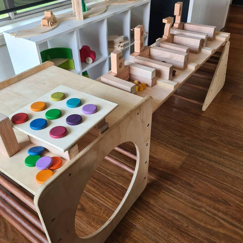 Shop and Cash Register using Open-ended toys