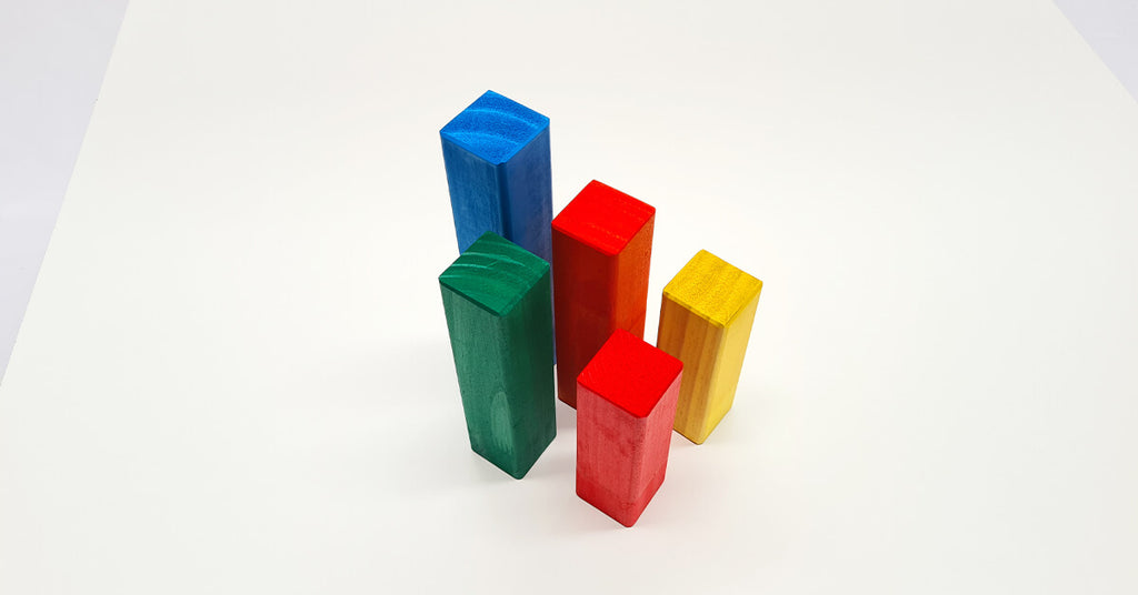 Coloured Building Blocks