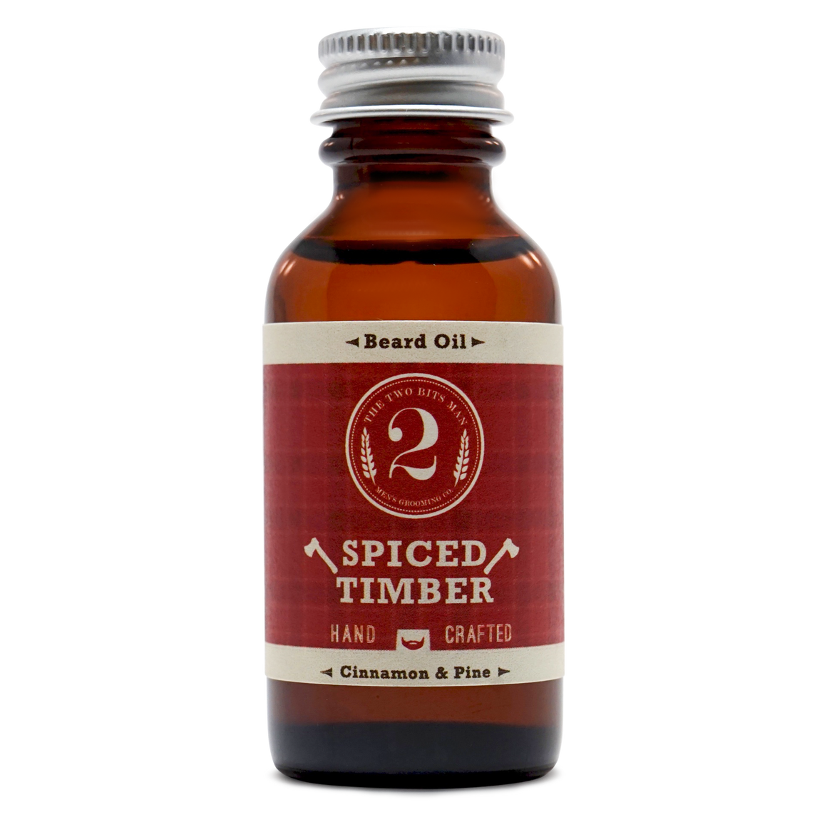 Spiced Timber - Beard Oil - The 2 Bits Man
