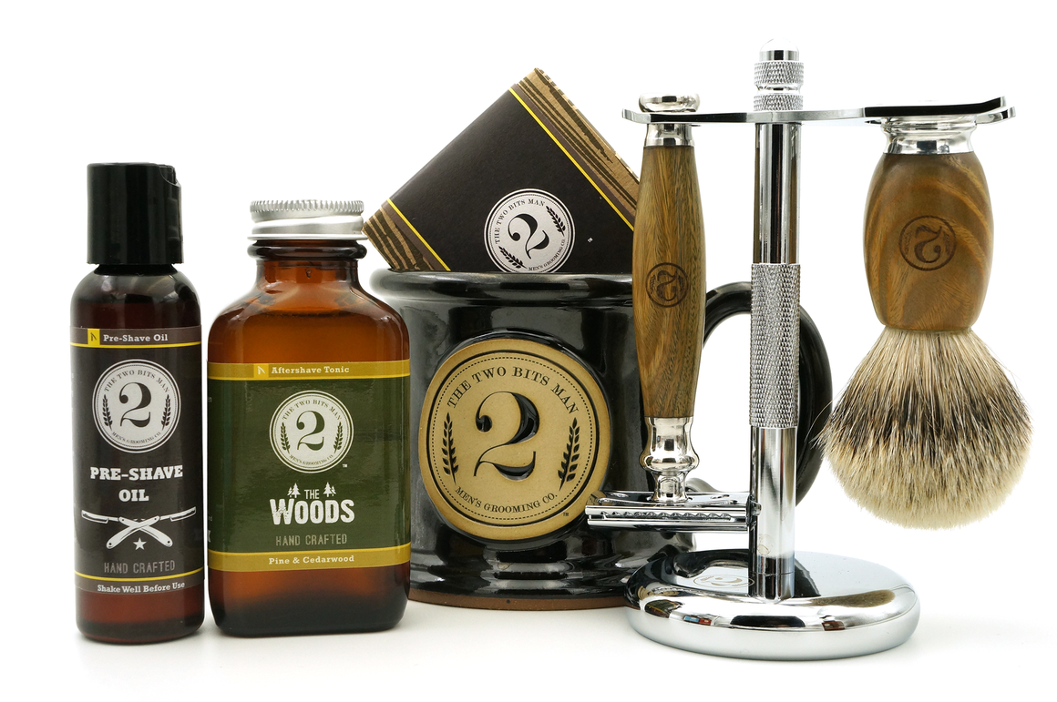 Premium Shaving Kit - The 2 Bits Man