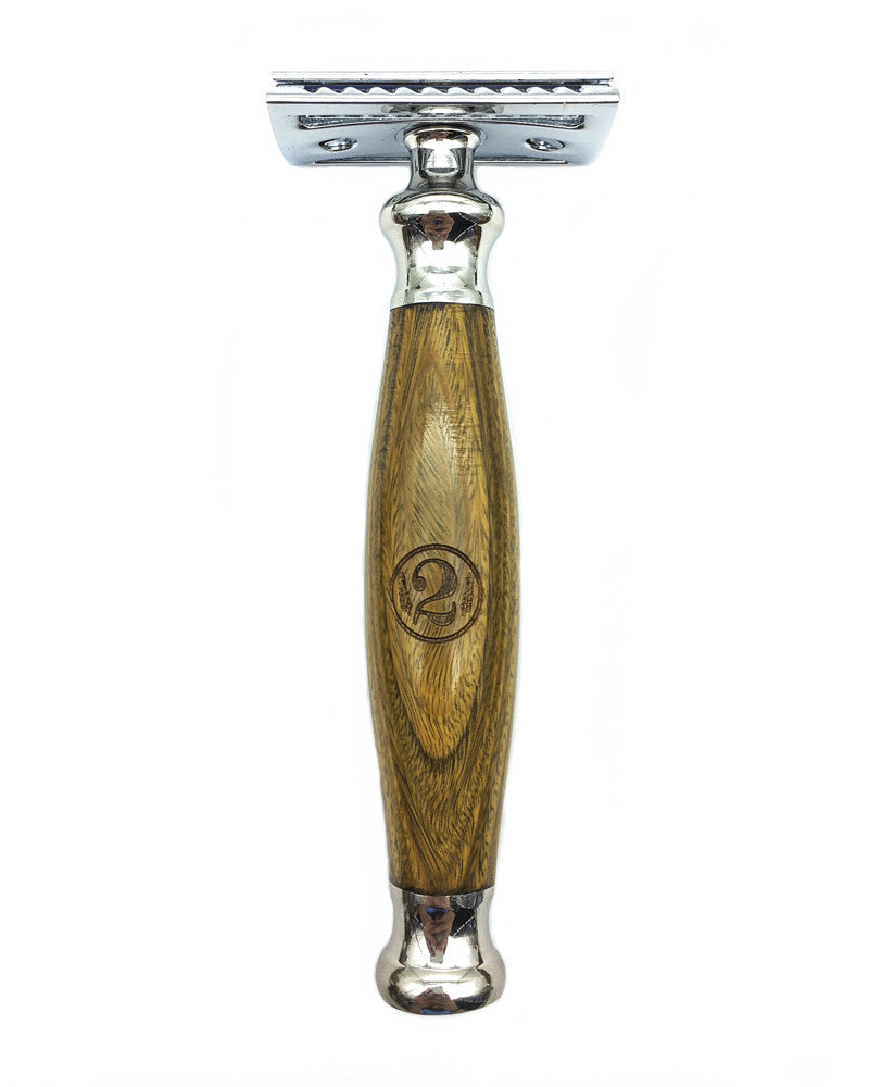 Sandalwood Shaving Razor - The 2 Bits Man