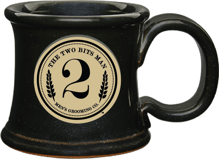 Shaving Mug - The 2 Bits Man