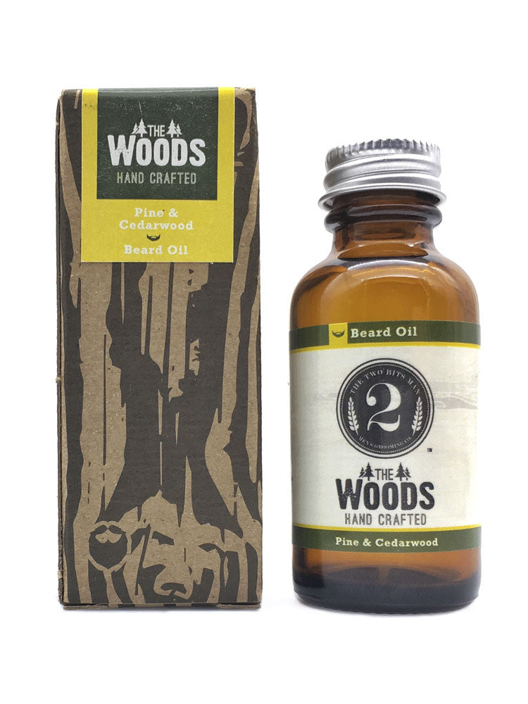 The Woods - Beard Oil - The 2 Bits Man