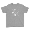 2 Bits X Logo - Youth Short Sleeve T-Shirt - The 2 Bits Man