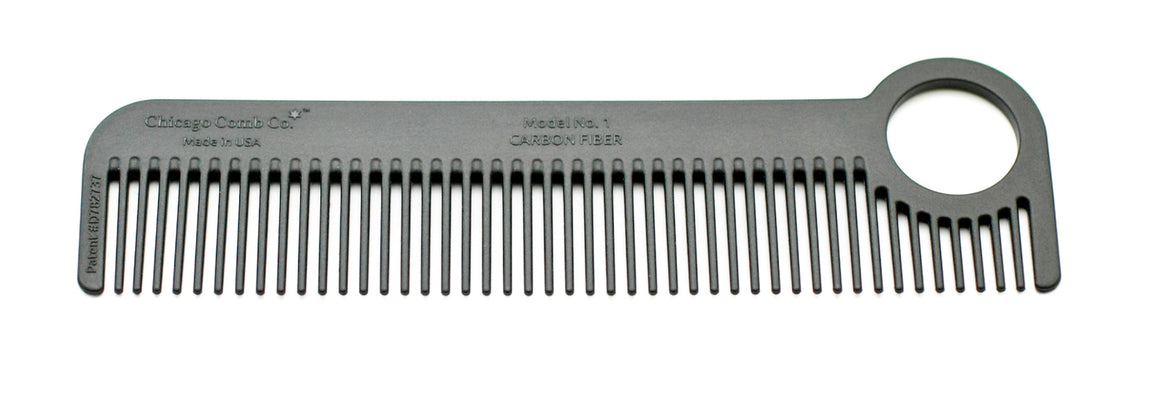 Model No. 1 Carbon Fiber Comb