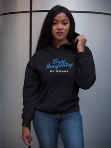 CP Designs Unlimited - African American woman wearing signature collection hoodie