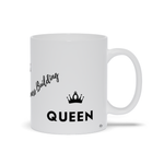 Load image into Gallery viewer, Business Building Queen - White Ceramic Mug