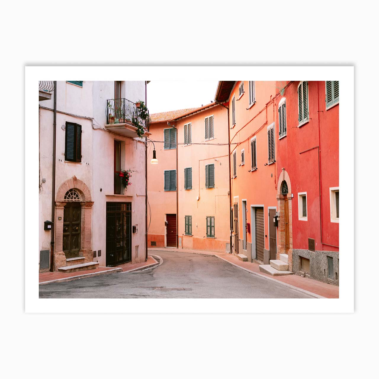 Colorful streets of Italy | Fine art travel photography print