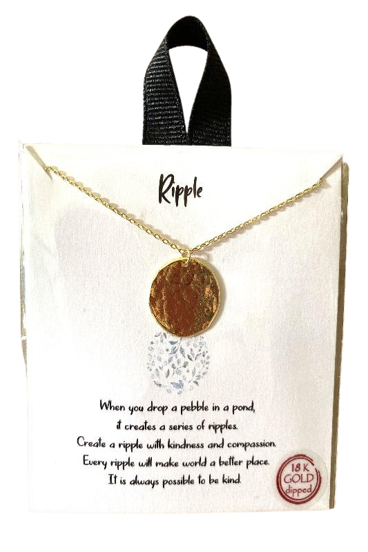 Packaged Necklace - Ripple