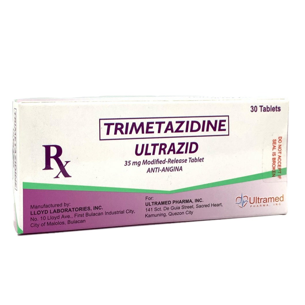 Trimetazidine (Ultrazid) 35mg Tablet