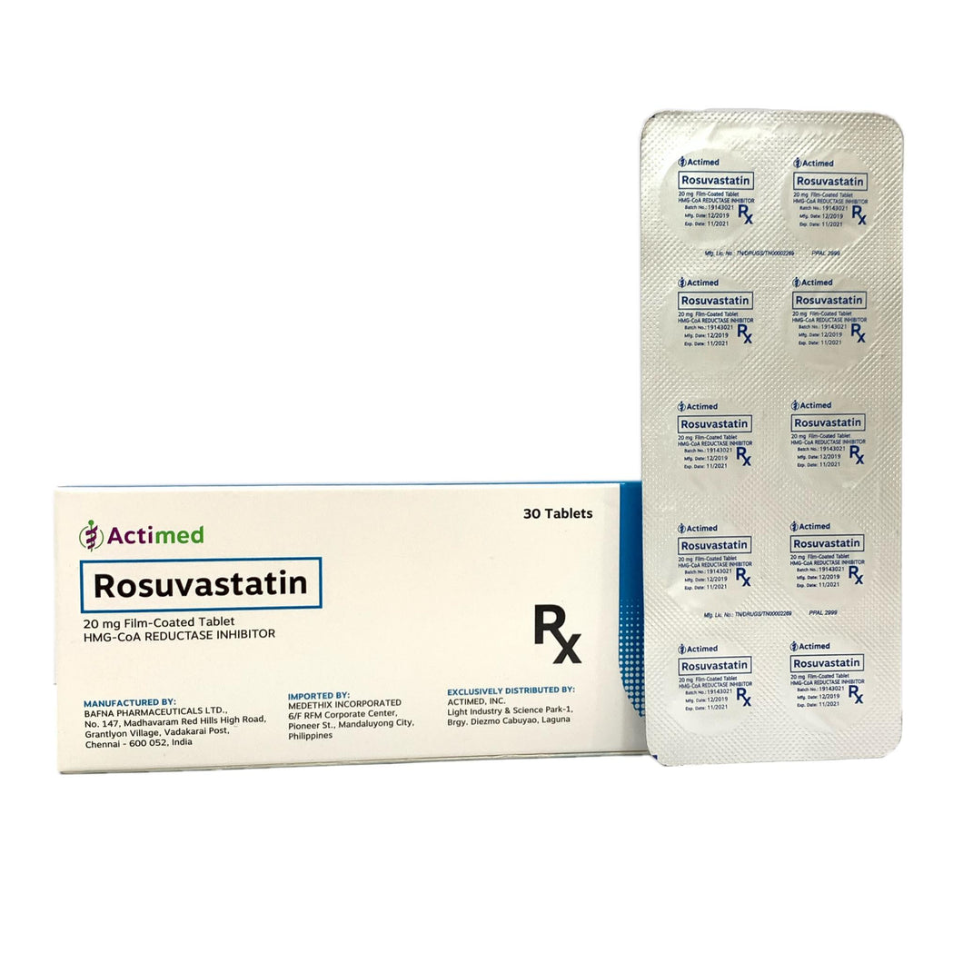 Rosuvastation 20mg Tablet