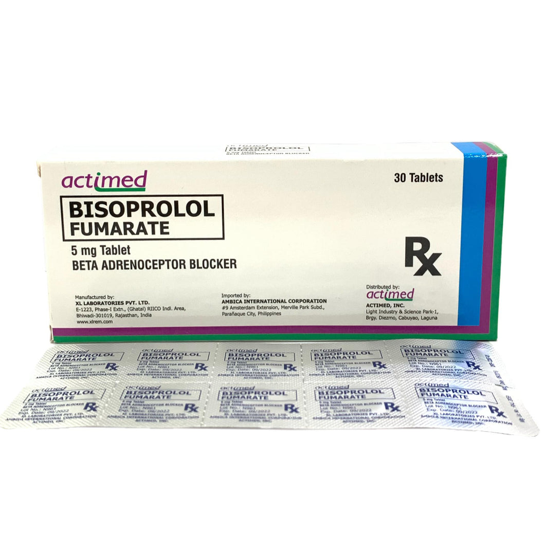 Bisoprolol 5mg Tablet