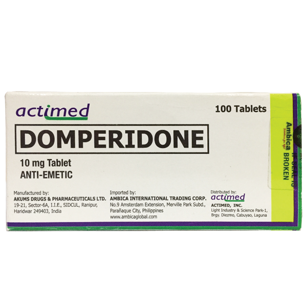 Domperidone Tablet 10mg - 30s
