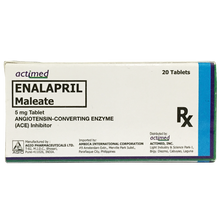 Load image into Gallery viewer, Enalapril Tablet 5mg