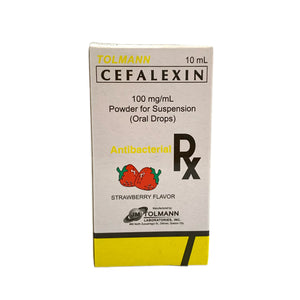 Cefalexin drop 100mg/mL- 10mL (PRESCRIPTION REQUIRED)