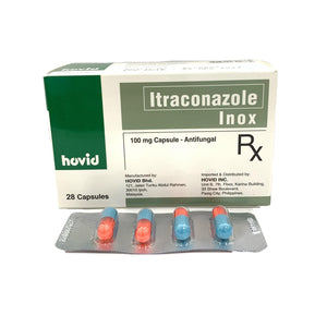 Itraconazole (Inox) 100mg (PRESCRIPTION REQUIRED)